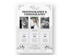 Nro 16 kilpailuun Photography - Videography Price Flyer käyttäjältä Taposs