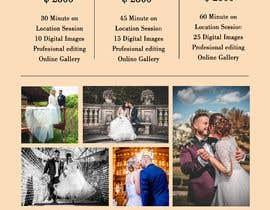 Nro 13 kilpailuun Photography - Videography Price Flyer käyttäjältä gulatipriyashha