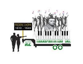 Nro 12 kilpailuun design company logo accourding to honor of Frédéric Chopin käyttäjältä hamadaphone2