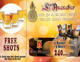 #13 para Design a Flyer for a bar por creativetigers32