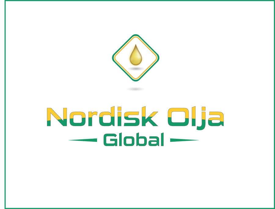 Kilpailutyö #48 kilpailussa Design a Logo for NORDISK OLJA GLOBAL