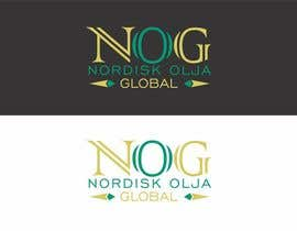 #12 for Design a Logo for NORDISK OLJA GLOBAL by Tebraja