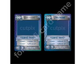 #20 for Card frame design for a sci-fi card game by cutpix