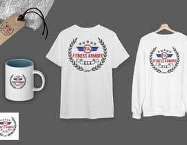 Nro 89 kilpailuun Tshirt, Hat, Sweater, swag designs for Fitness Brand! käyttäjältä mmrathod215