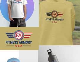 Nro 130 kilpailuun Tshirt, Hat, Sweater, swag designs for Fitness Brand! käyttäjältä designersajib716