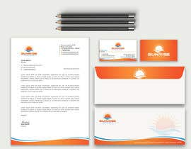 #7 for Design Visiting Card ( Front & Back), Envelope and Letter Head by designertapos