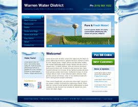 #4 para Design a Website Mockup for Rural Water Company por CreativeDezigner