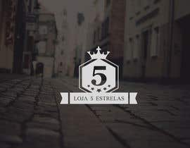 "Nro 57 kilpailuun Projetar um Logo for e-commerce store ""loja 5 estrelas"" käyttäjältä visualoutline"