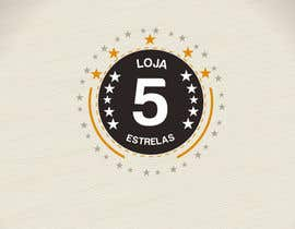 "Nro 11 kilpailuun Projetar um Logo for e-commerce store ""loja 5 estrelas"" käyttäjältä codigoccafe"