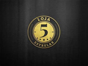 "#33 untuk Projetar um Logo for e-commerce store ""loja 5 estrelas"" oleh ChKamran"
