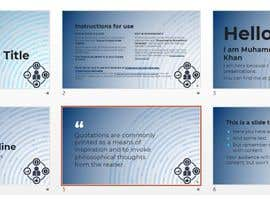 #84 cho Improve the Design, Professionalism and Format of PowerPoint Presentation bởi shoaibkhanRS