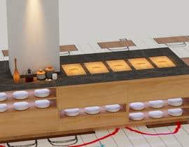 #8 untuk design table for hot buffé in a restaurant oleh ahmedamine5