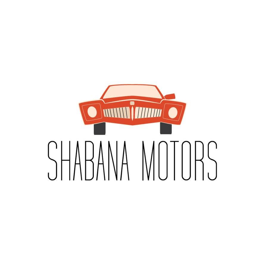 Kilpailutyö #199 kilpailussa Design a Logo for Shabana Motors