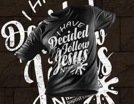 #172 for T-Shirt Design - Baptism by bottondas68