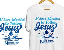 #168 for T-Shirt Design - Baptism by antoniustoni