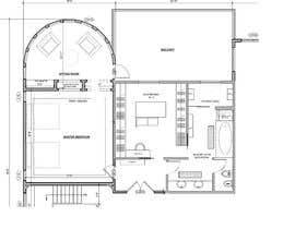 nº 85 pour Redesign  the floor plan of master suite for a better flow par Affiraatta