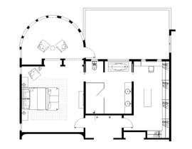 nº 79 pour Redesign  the floor plan of master suite for a better flow par trihapsarisanti