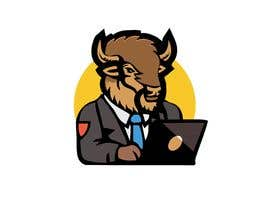 nº 23 pour Bison typing on a computer graphic par yunusolayinkaism