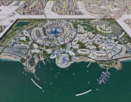 #62 for Build me a 3d futuristic town by farhanradzi