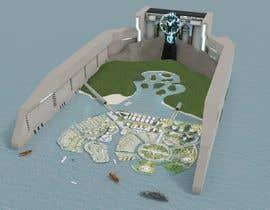 #118 for Build me a 3d futuristic town by arifinjulian