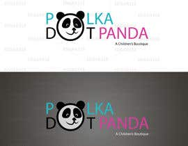 #92 para Design a Logo for a new children's clothes website - Polka Dot Panda por edgar318