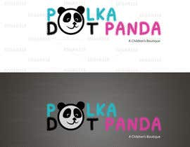 #94 para Design a Logo for a new children's clothes website - Polka Dot Panda por edgar318