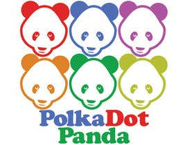 #86 for Design a Logo for a new children's clothes website - Polka Dot Panda by stanbaker