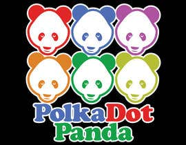 #87 para Design a Logo for a new children's clothes website - Polka Dot Panda por stanbaker