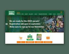 Nro 8 kilpailuun St Patrick's Day home page website design käyttäjältä azi82