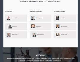 Nro 74 kilpailuun Website Design for Attorney käyttäjältä hosnearasharif