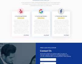 Nro 83 kilpailuun Website Design for Attorney käyttäjältä SandeepSatyam
