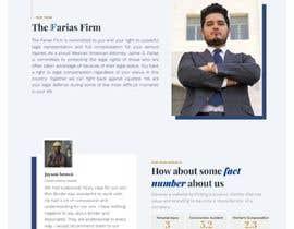 Nro 96 kilpailuun Website Design for Attorney käyttäjältä BouchraBr