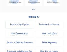Nro 79 kilpailuun Website Design for Attorney käyttäjältä ResilientHuman