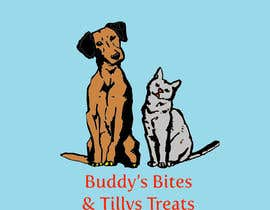 #90 for Create a logo for a dog & cat treat business by Farzana37