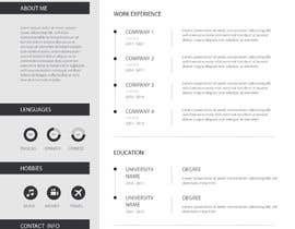 #31 para IT/ academic CV design por prony1