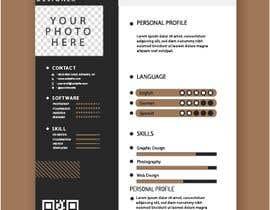 #315 para IT/ academic CV design por jahid3392