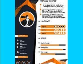 #322 para IT/ academic CV design por jahid3392