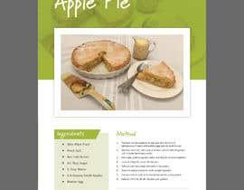 Nro 24 kilpailuun Modern Country Farmhouse style Recipie book - Sample design style of recipie pages käyttäjältä rajaitoya