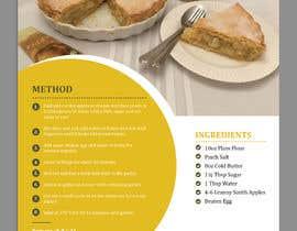 Nro 6 kilpailuun Modern Country Farmhouse style Recipie book - Sample design style of recipie pages käyttäjältä ChiemiDesigns