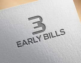 #73 for Logo design for early bills by Rabeyak229