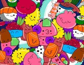 #31 for Kawaii Anime Sushi Food Banner Needed HIgh res by timajml98