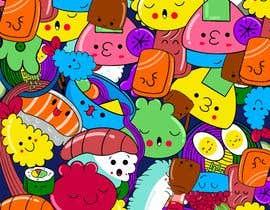 #36 for Kawaii Anime Sushi Food Banner Needed HIgh res by timajml98