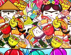 #30 for Kawaii Anime Sushi Food Banner Needed HIgh res by tannu3407