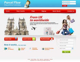 #10 untuk Website Design is needed for a parcel forwarding business in the uk oleh tania06