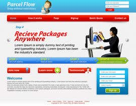 #21 pentru Website Design is needed for a parcel forwarding business in the uk de către tania06