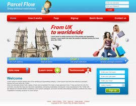 #17 untuk Website Design is needed for a parcel forwarding business in the uk oleh tania06