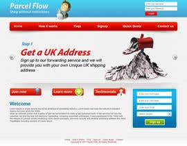 #11 pentru Website Design is needed for a parcel forwarding business in the uk de către tania06