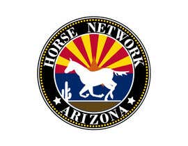 #45 for Design a Logo for Arizona Horse Network by sani58