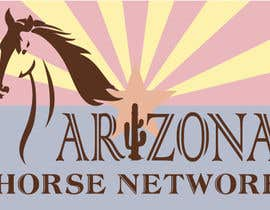 #60 for Design a Logo for Arizona Horse Network by sani58