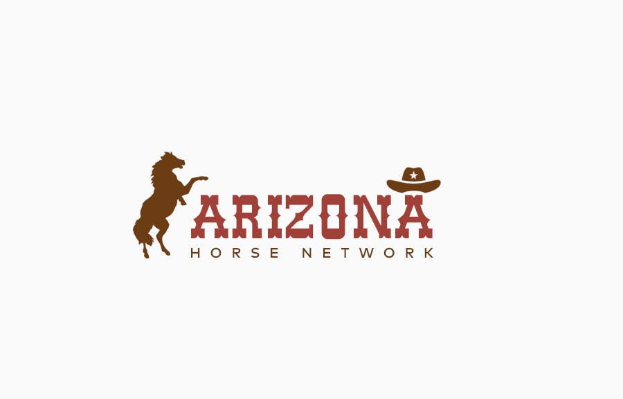 Kilpailutyö #67 kilpailussa Design a Logo for Arizona Horse Network